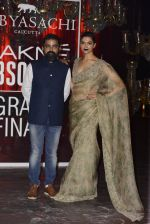 Deepika Padukone at Sabyasachi Show Grand Finale at Lakme Fashion Week 2016 on 28th Aug 2016 (210)_57c542e87bfb9.JPG