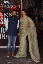 Deepika Padukone at Sabyasachi Show Grand Finale at Lakme Fashion Week 2016 on 28th Aug 2016 (213)_57c542fae93e0.JPG