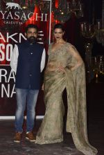 Deepika Padukone at Sabyasachi Show Grand Finale at Lakme Fashion Week 2016 on 28th Aug 2016 (217)_57c543170ce39.JPG
