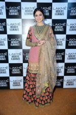Divya Kumar at Sabyasachi Show Grand Finale at Lakme Fashion Week 2016 on 28th Aug 2016 (94)_57c5445403a11.JPG