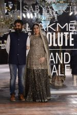 Kareena Kapoor walk the ramp for Sabyasachi Show Grand Finale at Lakme Fashion Week 2016 on 28th Aug 2016 (229)_57c54560aeafc.JPG