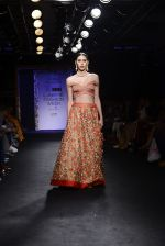 Model walk the ramp for Architha Narayanam Show at Lakme Fashion Week 2016 on 28th Aug 2016  (37)_57c542c3c0c10.JPG