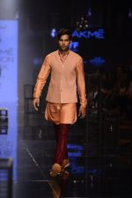 Model walk the ramp for Kunal Rawal Show at Lakme Fashion Week 2016 on 28th Aug 2016 (150)_57c545e430587.JPG