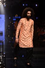 Model walk the ramp for Kunal Rawal Show at Lakme Fashion Week 2016 on 28th Aug 2016 (149)_57c545bc493c7.JPG