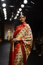 Model walk the ramp for Sanjukta Dutta Show at Lakme Fashion Week 2016 on 28th Aug 2016 (12)_57c540d7b2453.JPG