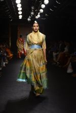 Model walk the ramp for Sanjukta Dutta Show at Lakme Fashion Week 2016 on 28th Aug 2016 (13)_57c540db18088.JPG
