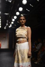 Model walk the ramp for Sanjukta Dutta Show at Lakme Fashion Week 2016 on 28th Aug 2016 (9)_57c540c9d867e.JPG