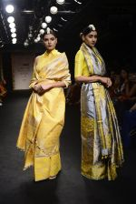 Model walk the ramp for Sanjukta Dutta Show at Lakme Fashion Week 2016 on 28th Aug 2016 (20)_57c541074e371.JPG
