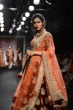 Model walk the ramp for Saroj Jalan Show at Lakme Fashion Week 2016 on 28th Aug 2016  (10)_57c541f8c93dd.JPG