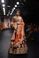 Model walk the ramp for Saroj Jalan Show at Lakme Fashion Week 2016 on 28th Aug 2016  (9)_57c541f40c165.JPG