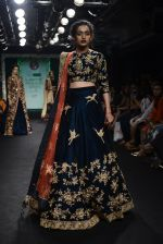 Model walk the ramp for Saroj Jalan Show at Lakme Fashion Week 2016 on 28th Aug 2016  (29)_57c542b382eb3.JPG