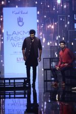 Ranbir Kapoor walk the ramp for Kunal Rawal Show at Lakme Fashion Week 2016 on 28th Aug 2016 (658)_57c54626b1ea8.JPG