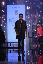 Ranbir Kapoor walk the ramp for Kunal Rawal Show at Lakme Fashion Week 2016 on 28th Aug 2016 (659)_57c5463a71778.JPG