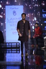 Ranbir Kapoor walk the ramp for Kunal Rawal Show at Lakme Fashion Week 2016 on 28th Aug 2016 (661)_57c5464b170c7.JPG
