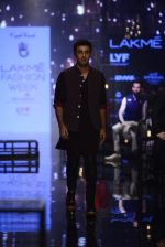 Ranbir Kapoor walk the ramp for Kunal Rawal Show at Lakme Fashion Week 2016 on 28th Aug 2016 (665)_57c5466920153.JPG
