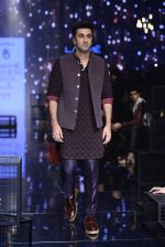 Ranbir Kapoor walk the ramp for Kunal Rawal Show at Lakme Fashion Week 2016 on 28th Aug 2016 (672)_57c548678313e.JPG