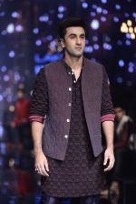 Ranbir Kapoor walk the ramp for Kunal Rawal Show at Lakme Fashion Week 2016 on 28th Aug 2016 (673)_57c548789d4b5.JPG