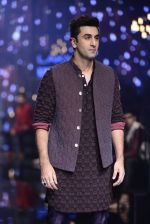 Ranbir Kapoor walk the ramp for Kunal Rawal Show at Lakme Fashion Week 2016 on 28th Aug 2016 (675)_57c54888f175a.JPG