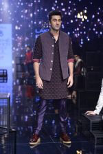 Ranbir Kapoor walk the ramp for Kunal Rawal Show at Lakme Fashion Week 2016 on 28th Aug 2016 (676)_57c5489124ac6.JPG