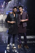 Ranbir Kapoor walk the ramp for Kunal Rawal Show at Lakme Fashion Week 2016 on 28th Aug 2016 (748)_57c54a2b84e5e.JPG