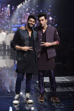 Ranbir Kapoor walk the ramp for Kunal Rawal Show at Lakme Fashion Week 2016 on 28th Aug 2016 (749)_57c54a33e49f4.JPG
