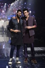 Ranbir Kapoor walk the ramp for Kunal Rawal Show at Lakme Fashion Week 2016 on 28th Aug 2016 (750)_57c54a3a7111c.JPG