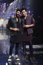 Ranbir Kapoor walk the ramp for Kunal Rawal Show at Lakme Fashion Week 2016 on 28th Aug 2016 (751)_57c54a48bb4ae.JPG