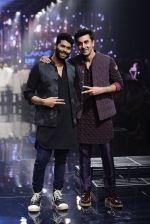 Ranbir Kapoor walk the ramp for Kunal Rawal Show at Lakme Fashion Week 2016 on 28th Aug 2016 (753)_57c54a5b64c7d.JPG