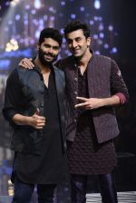 Ranbir Kapoor walk the ramp for Kunal Rawal Show at Lakme Fashion Week 2016 on 28th Aug 2016 (754)_57c54a66656bf.JPG
