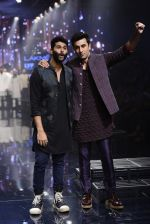 Ranbir Kapoor walk the ramp for Kunal Rawal Show at Lakme Fashion Week 2016 on 28th Aug 2016 (760)_57c54a915358e.JPG
