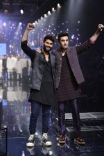 Ranbir Kapoor walk the ramp for Kunal Rawal Show at Lakme Fashion Week 2016 on 28th Aug 2016 (765)_57c54ac7aba15.JPG