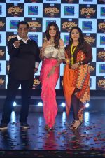 Shilpa Shetty, Geeta Kapoor, Anurag Basu at Super Dancer launch on 29th Aug 2016 (59)_57c5533a2e952.JPG