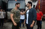 John Abraham, Arjun Kapoor snapped at Mehboob on 31st Aug 2016 (42)_57c7db44dd74b.JPG