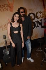Prachi Desai, Arjun Rampal at Rock On 2 trailer launch on 2nd Sept 2016 (79)_57cac0e7063f9.JPG