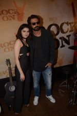 Prachi Desai, Arjun Rampal at Rock On 2 trailer launch on 2nd Sept 2016 (81)_57cac0e885733.JPG