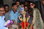 Shilpa Shetty at the arrival of Ganpati Bappa on 3rd Sept 2016 (11)_57cc58ba3b780.JPG