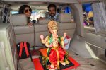 Shilpa Shetty at the arrival of Ganpati Bappa on 3rd Sept 2016 (16)_57cc58905ad58.JPG