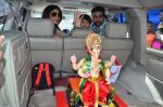 Shilpa Shetty at the arrival of Ganpati Bappa on 3rd Sept 2016 (18)_57cc5894ed4b7.JPG
