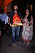 Anu Dewan and Sunny Dewan snapped as they got there ganpati on 4th Sept 2016 (15)_57cd62d33fa3f.JPG