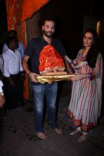 Anu Dewan and Sunny Dewan snapped as they got there ganpati on 4th Sept 2016 (19)_57cd62d737f1b.JPG