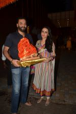 Anu Dewan and Sunny Dewan snapped as they got there ganpati on 4th Sept 2016 (4)_57cd62cb4fc38.JPG