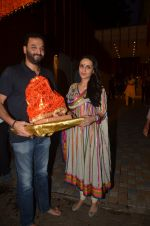 Anu Dewan and Sunny Dewan snapped as they got there ganpati on 4th Sept 2016 (6)_57cd62ccb4620.JPG