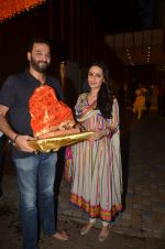 Anu Dewan and Sunny Dewan snapped as they got there ganpati on 4th Sept 2016 (7)_57cd62cd676ac.JPG