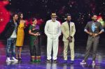 Prabhu Deva with his father on the sets of Star Plus_s Dance Plus on 4th Sept 2016 (26)_57cd636638ba5.JPG