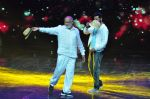 Prabhu Deva with his father on the sets of Star Plus_s Dance Plus on 4th Sept 2016 (1)_57cd6359e3c36.JPG