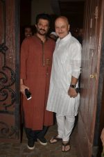 Anupam Kher at Anil Kapoor_s Ganpati celebration on 5th Sept 2016 (8)_57ce6847284bc.JPG
