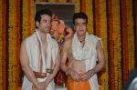 Jeetendra and Tusshar Kapoor Ganpati celebration on 5th Sept 2016 (21)_57ce68ce275d0.JPG