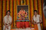 Jeetendra and Tusshar Kapoor Ganpati celebration on 5th Sept 2016 (24)_57ce68bfc0142.JPG