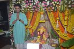 Manish Paul Ganpati celebration on 5th Sept 2016 (50)_57ce69553317b.JPG