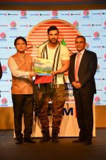 John Abraham during a tourism program for the North East Indian state of Arunachal Pradesh in Mumbai on 6th Sept 2016 (15)_57cfb6b5c8263.JPG